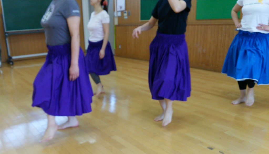 hula step