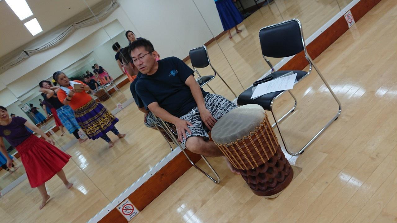 パフドラム,hula,kahiko